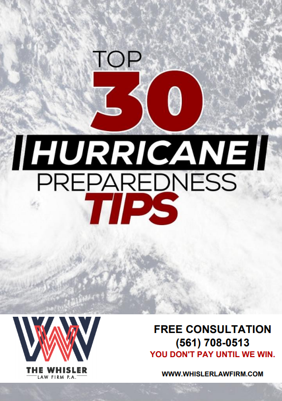 Top 30 Hurricane Preparedness Tips